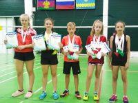 Ярославцы завоевали медали на  Всероссийских соревнованиях по бадминтону