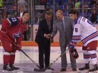 Владимир Путин пришел на Кубок мира по хоккею, где болеет за «Локо»