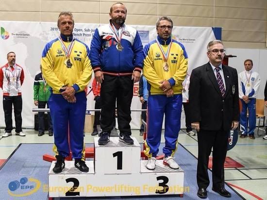 Ярославец стал чемпионом Европы по пауэрлифтингу