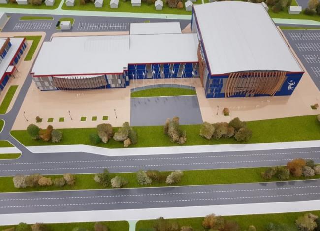 Губернатору Ярославской области представили виртуальный макет волейбольного центра