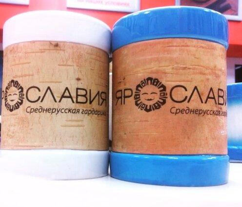 В Ярославле появились чашки из бересты с туристическим брендом региона