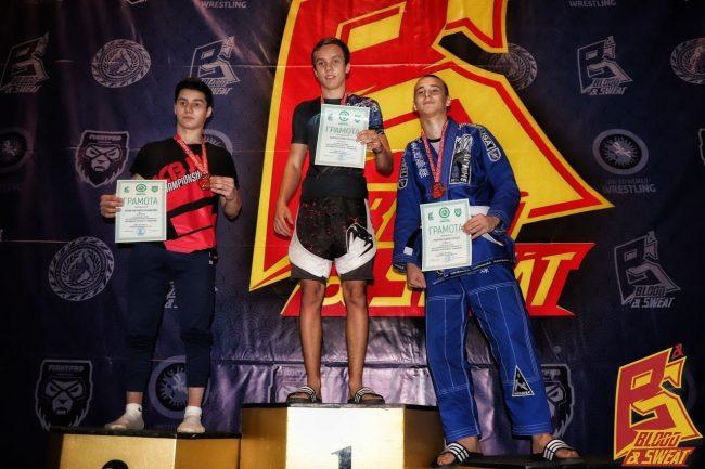 Магомед Тураев занял второе место на Всероссийском турнире по грэпплингу и грэпплингу GI «Кровью и потом 27»