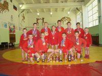 Некрасовские самбисты завоевали 28 медалей за два месяца