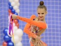 Ярославна попала в сборную России по художественной гимнастике