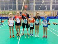 Ярославские спортсмены завоевали медали на Всероссийских соревнованиях по бадминтону