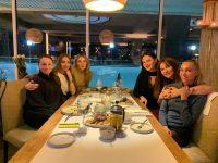 Шоу-группа «Грация» отметила 22-летие в ресторане «Ванильное небо»