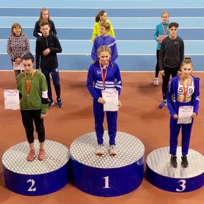 Ксения Лужина завоевала медаль на Первенстве России по легкой атлетике