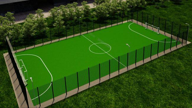В Гаврилов-Яме появится современная мини-футбольная площадка с искусственным покрытием