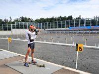 Сборная России по биатлону возобновит тренировки в Демино