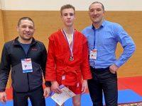 Ярославец стал серебряным призёром первенства России по самбо