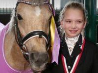Юная ярославна Дарья Седова и её пони Дейзи бай Верона победили на всероссийском турнире Mini Masters