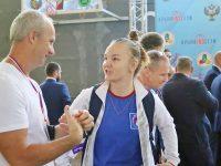 Виктория Гаврилова завоевала серебряную медаль на Кубке России по гиревому спорту